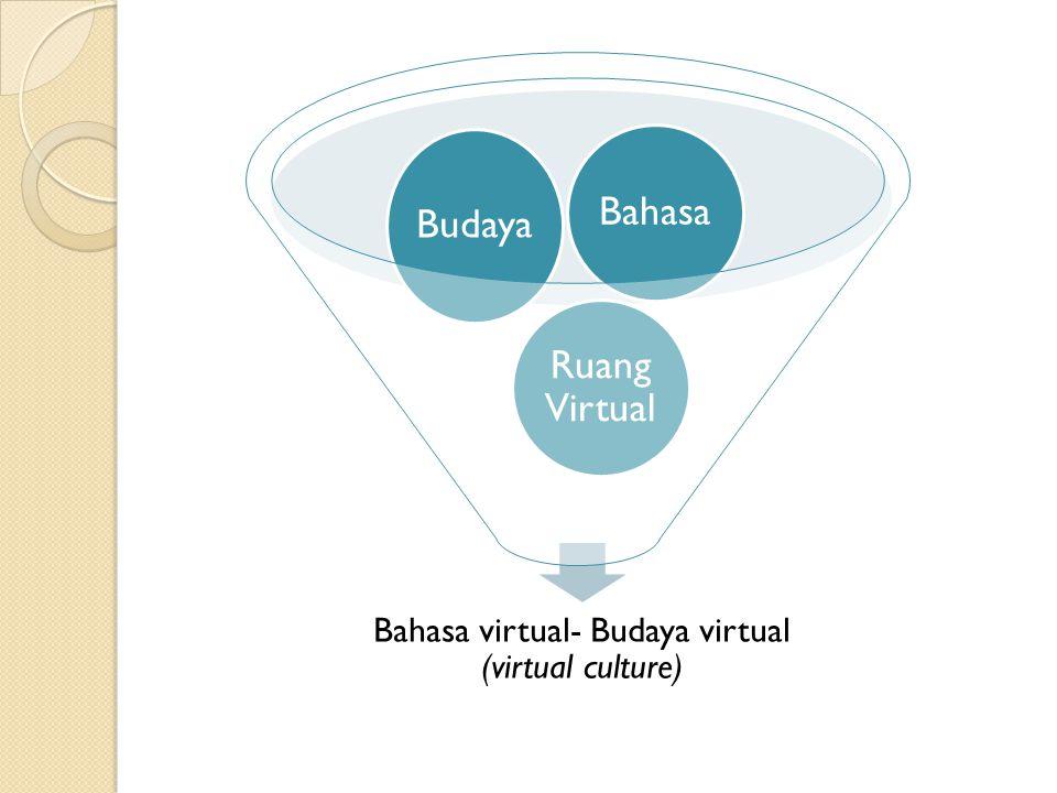 Kekacauan bahasa dalam budaya virtual