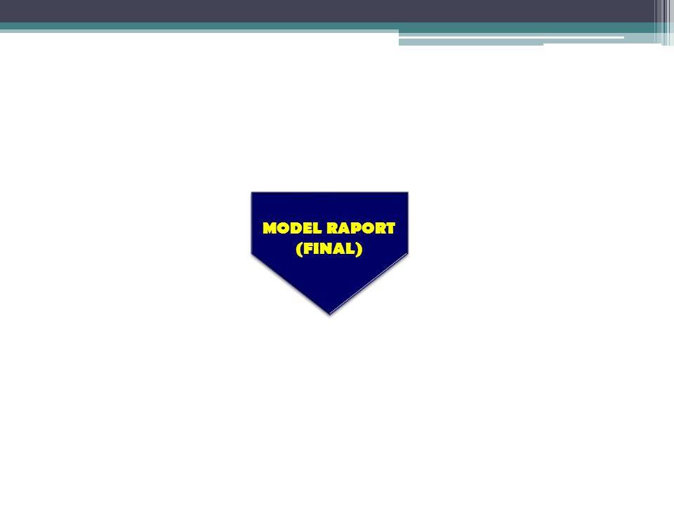 MODEL RAPORT (FINAL) MODEL RAPORT (FINAL)