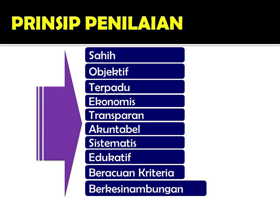 PROSEDUR PENILAIAN PERSIAPAN PELAKSANAAN PENGOLAHAN & TINDAK LANJUT PENGOLAHAN & TINDAK LANJUT PELAPORAN