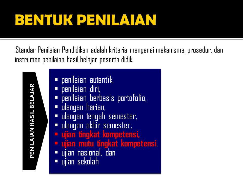 SIKAP (DARI KI 1 DAN KI 2) PENGETAHUAN (DARI KI 3) KETERAMPILAN (DARI KI 4) PENGAMATANTES TERTULISTES PRAKTIK JURNALTES LISANPROJEK PENILAIAN DIRIPENUGASANPORTOFOLIO PENILAIAN ANTAR TEMAN