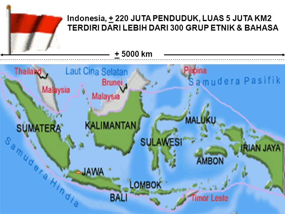 PEMBINAAN JATIDIRI BANGSA INDONESIA KAJIAN dan ANALISIS SITUASI NEGARA