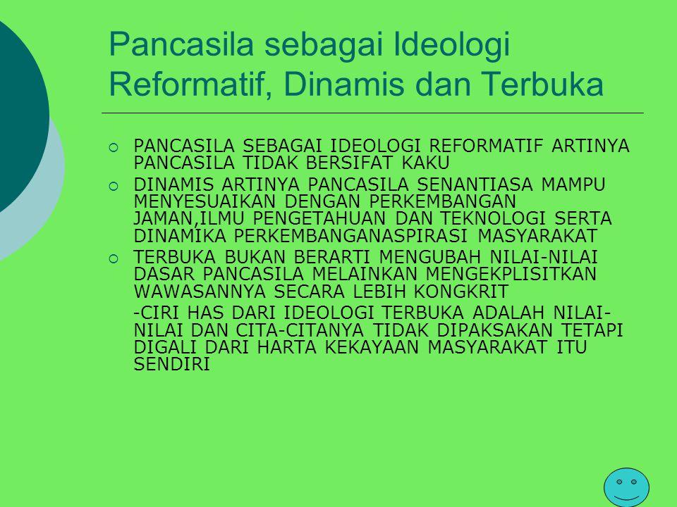 Pentingnya Ideologi bagi suatu Bangsa Ideologi sangat menentukan eksistensi suatu bangsa dan negara yang menjadi pedoman bagi bangsa dan negara terseb