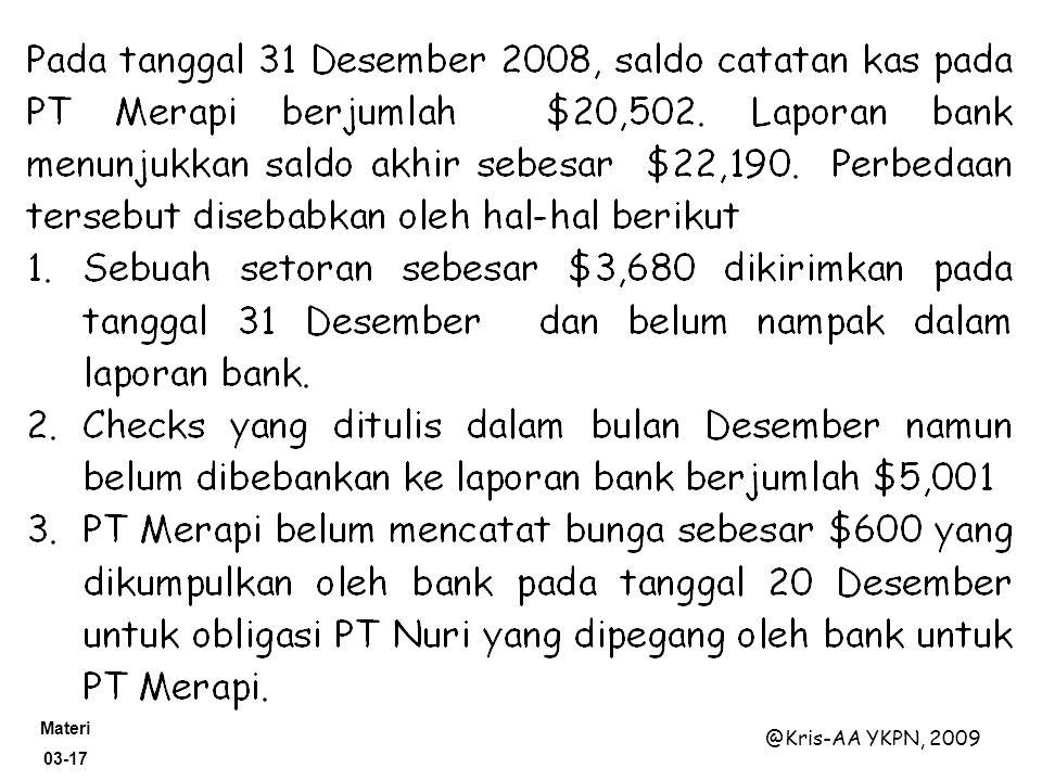 Materi 03-17 @Kris-AA YKPN, 2009