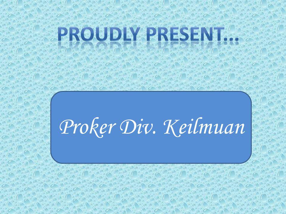 Proker Div. Keilmuan