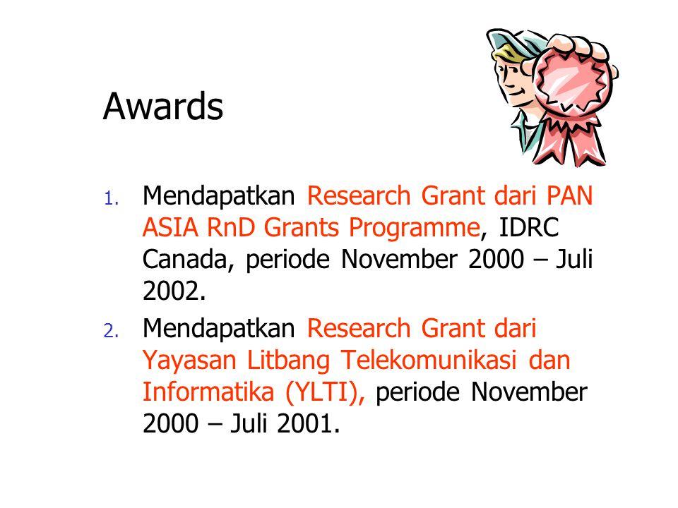 The Indonesian Digital Library Network: Menuju Masyarakat Berbasis Ilmu Pengetahuan Knowledge Management Research Group Institut Teknologi Bandung Kmr