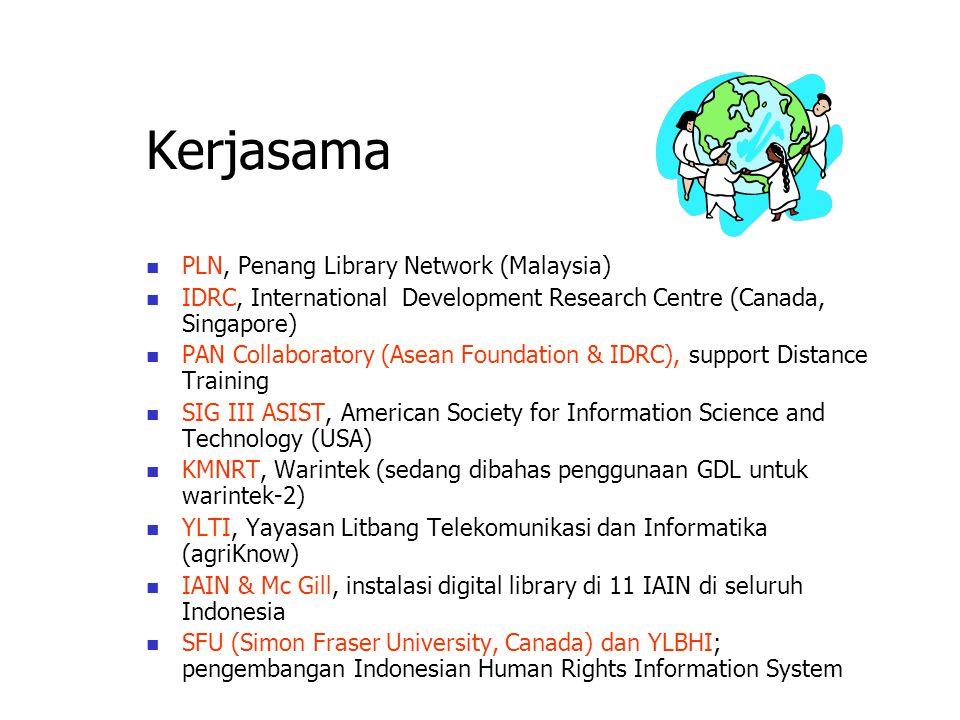 Bagaimana Bergabung dengan IndonesiaDLN Siapkan Team Digital Library; Download software GDL dan form registrasi dari: http://gdl.itb.ac.id; Install se