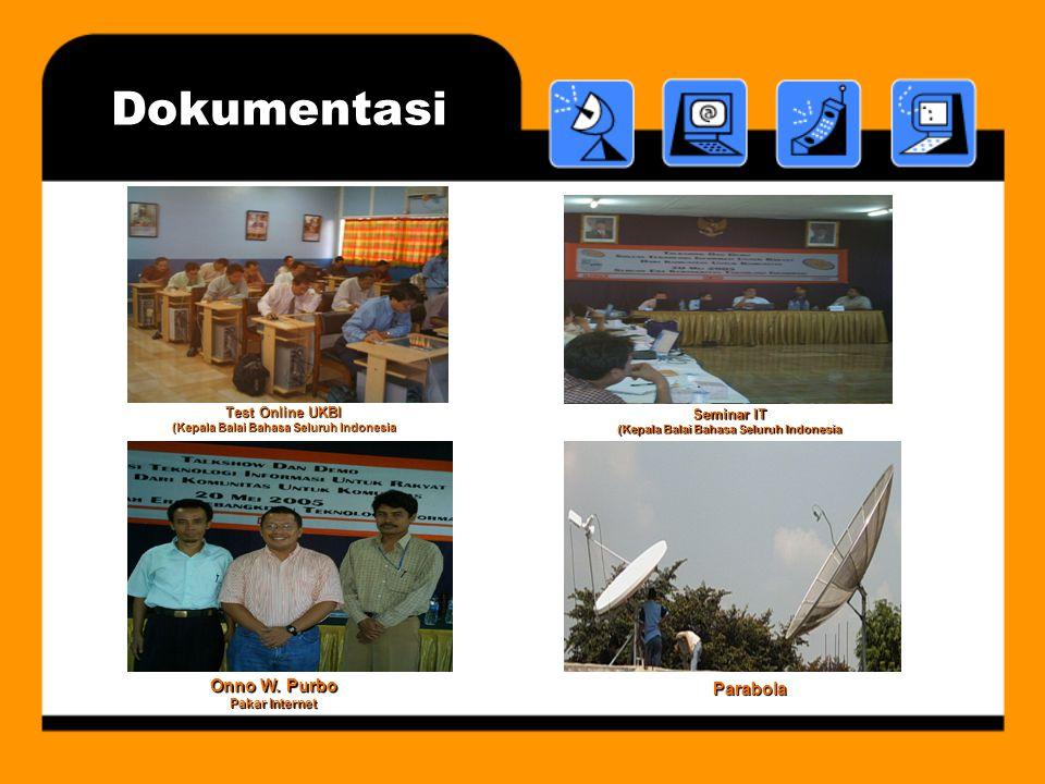 Test Online UKBI (Kepala Balai Bahasa Seluruh Indonesia Seminar IT (Kepala Balai Bahasa Seluruh Indonesia Onno W.