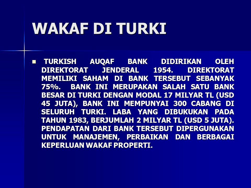 Adapun wakaf yang dikelola oleh Direktorat Jenderal Wakaf adalah: Adapun wakaf yang dikelola oleh Direktorat Jenderal Wakaf adalah: 1.