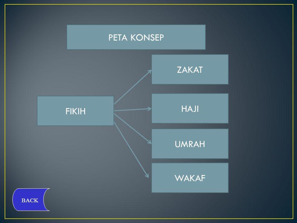 ZAKAT Zakat menurut bahasa artinya tumbuh dengan subur atau suci dari dosa.