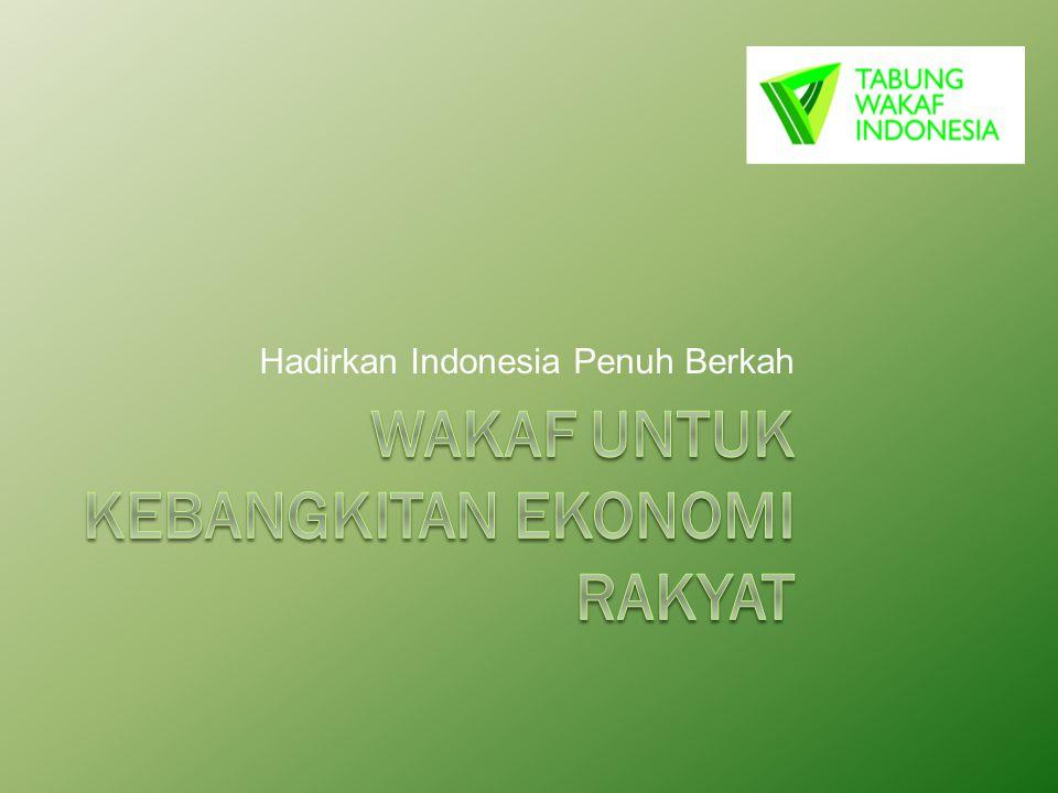 Profil Tabung Wakaf Indonesia Tabung Wakaf Indonesia (TWI) adalah lembaga yang berkhidmat meningkatkan kesejahteraan masyarakat dengan menggalang dan mengelola sumberdaya wakaf secara produktif, profesional dan amanah.
