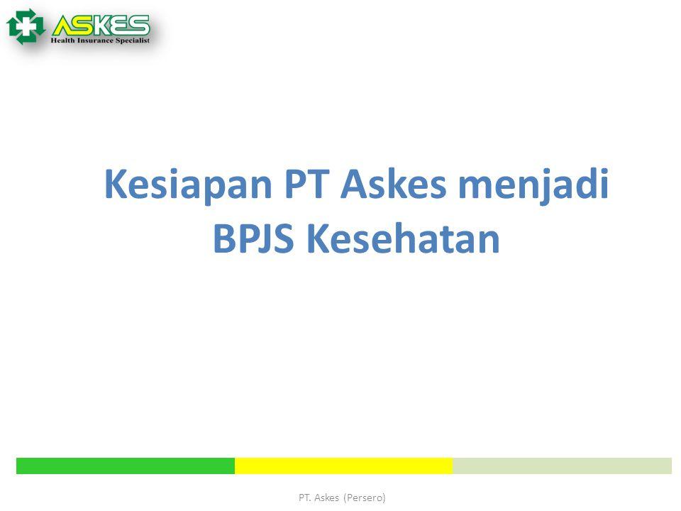 PT. Askes (Persero) Kesiapan PT Askes menjadi BPJS Kesehatan
