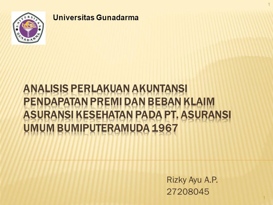 Rizky Ayu A.P. 27208045 Universitas Gunadarma 1 1