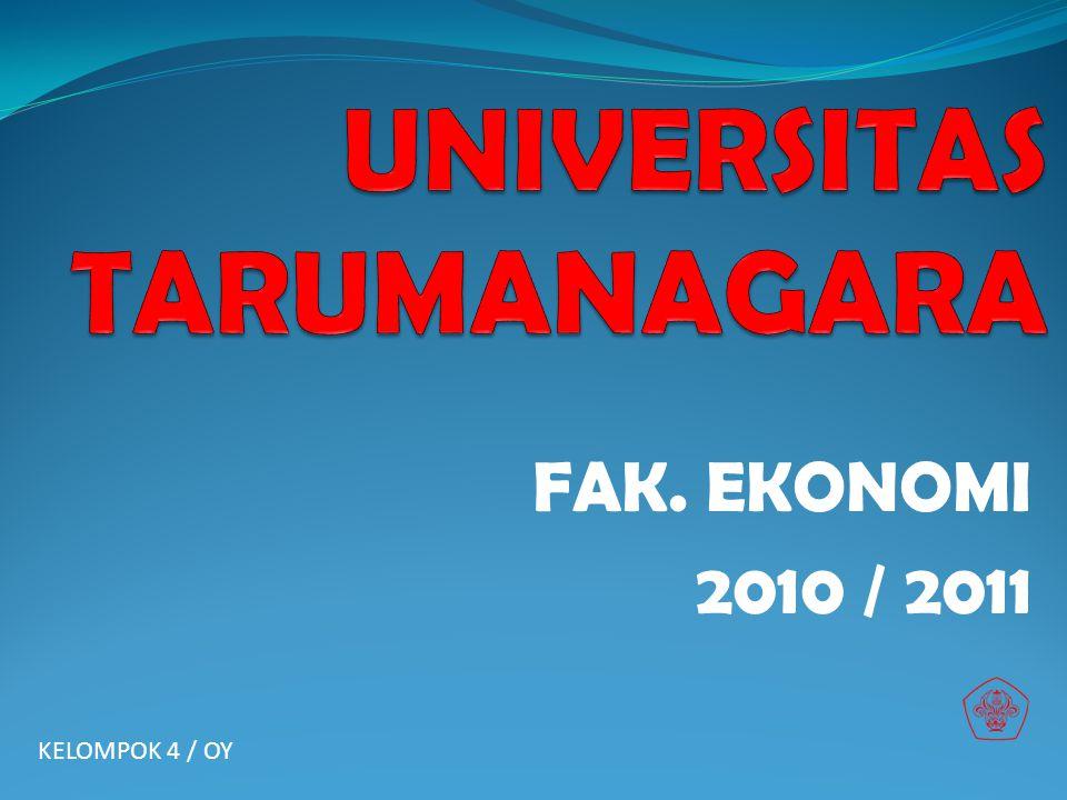 FAK. EKONOMI 2010 / 2011 KELOMPOK 4 / OY