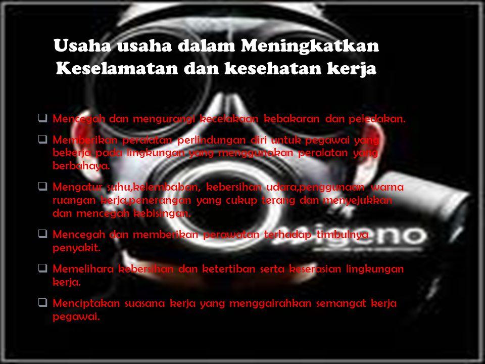 MM encegah dan mengurangi kecelakaan kebakaran dan peledakan.
