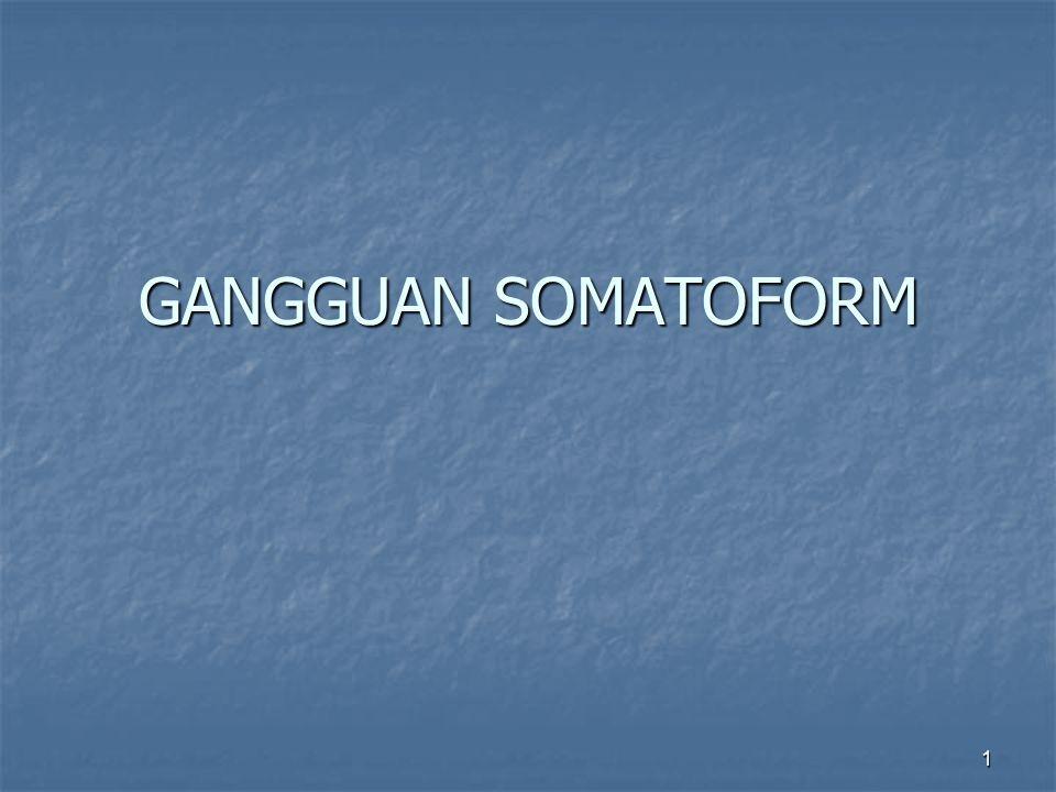 1 GANGGUAN SOMATOFORM