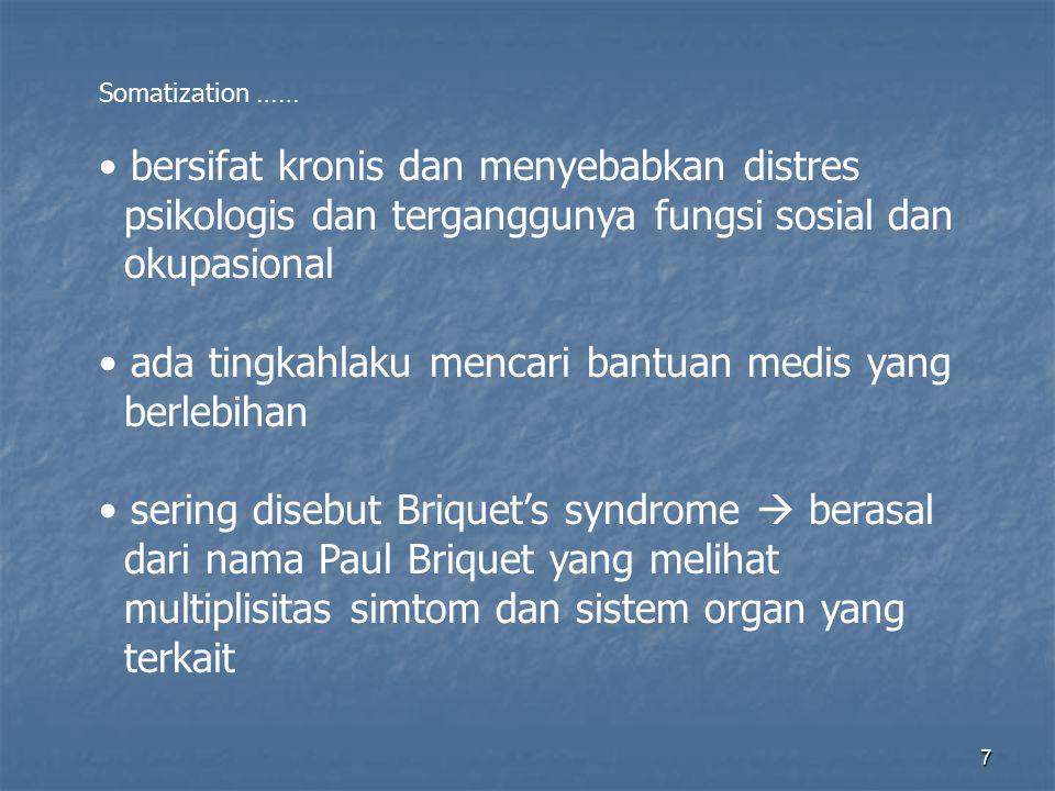 18 Epidemiologi: lebih banyak perempuan, pada anak2, lebih banyak lagi onset kapan saja, anak sp tua, umum remaja dan young adults.