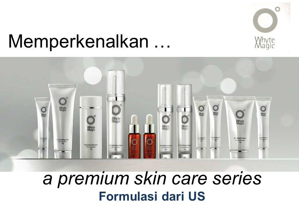 functions 1 Mencerahkan kulit, khususnya warna kulit 2 anti-aging, elastisitas kulit 3 Bahan-bahan pelembab yang sangat efektif moisture retention in deeper skin layer