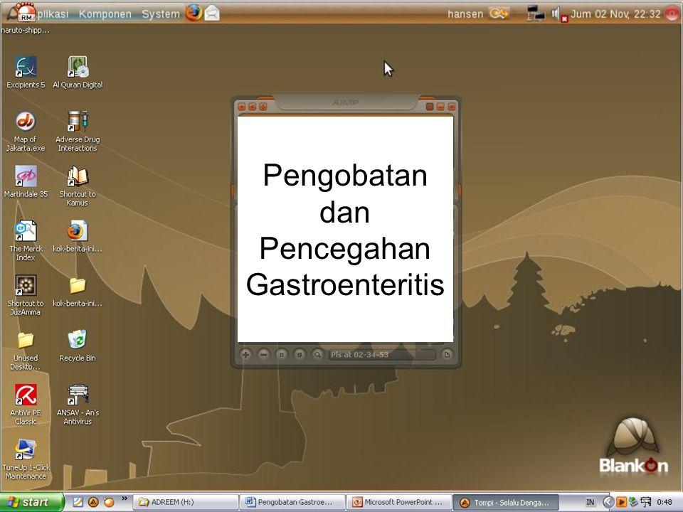 Pengobatan dan Pencegahan Gastroenteritis