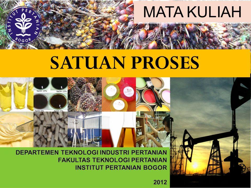 SATUAN PROSES MATA KULIAH