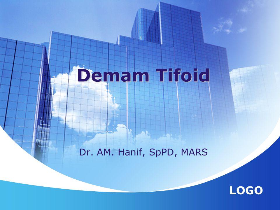 LOGO Dr. AM. Hanif, SpPD, MARS Demam Tifoid