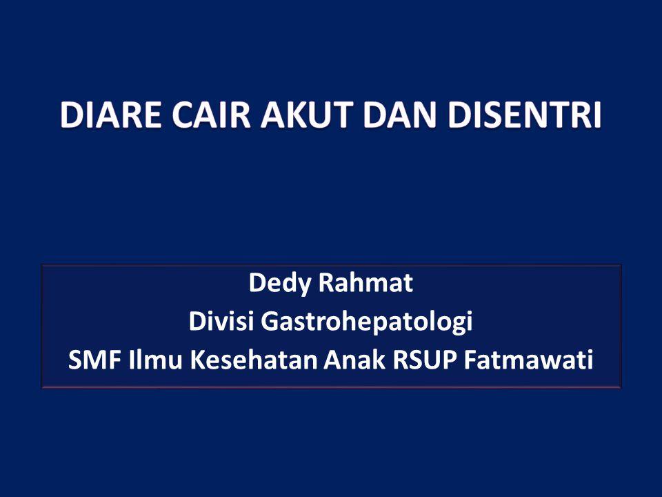 Dedy Rahmat Divisi Gastrohepatologi SMF Ilmu Kesehatan Anak RSUP Fatmawati