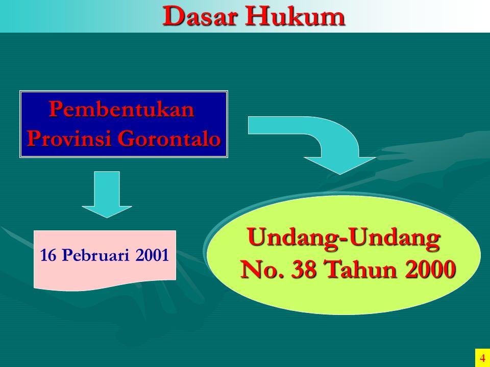 TINGKAT KEMATIAN BAYI/ANAK 0 1 2 3 4 5 6 20032004 2002 4,82/1000 4,63/1000 3,25/1000 TAHUN Sumber : Dinas Kesehatan Provinsi Gorontalo, 2005 5.