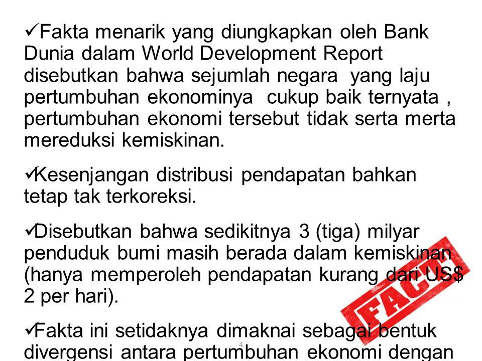 Kondisi Kemiskinan Selalu menjadi momok bagi perekonomian dunia, termasuk Indonesia Dulu hampir semua penduduk Indonesia hidup miskin (share poverty), sedangkan sekarang kemiskinan terjadi di tengah masyarakat modern dan berkelimpahan (affluent society)