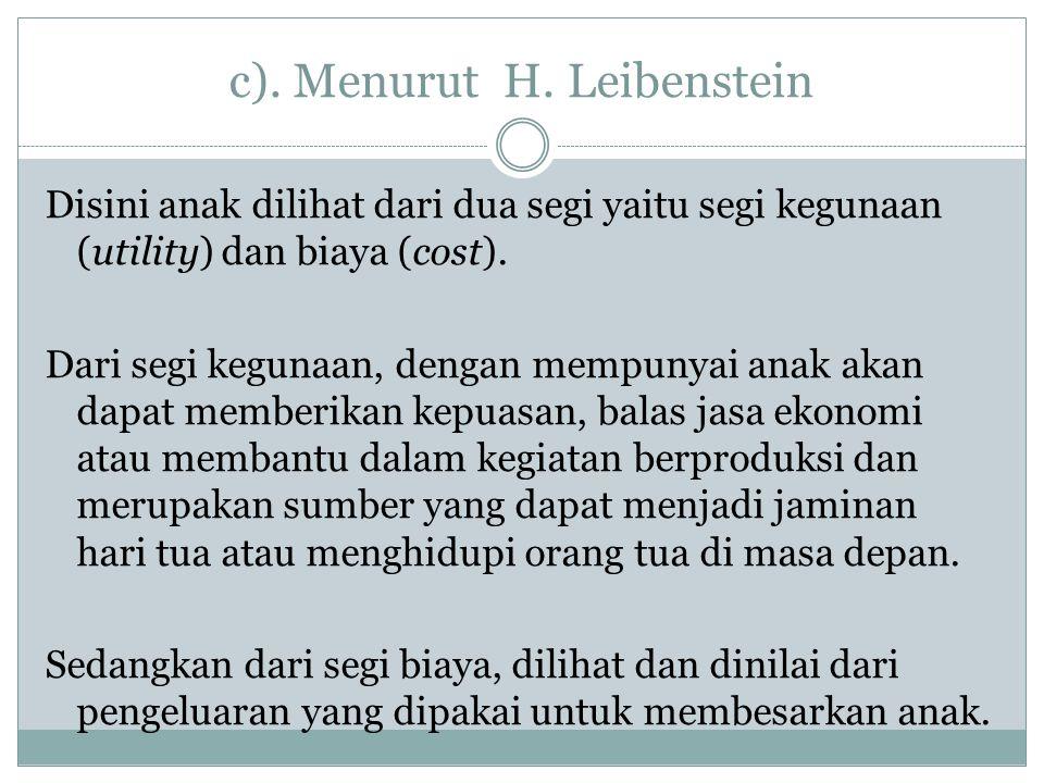 c).Menurut H.