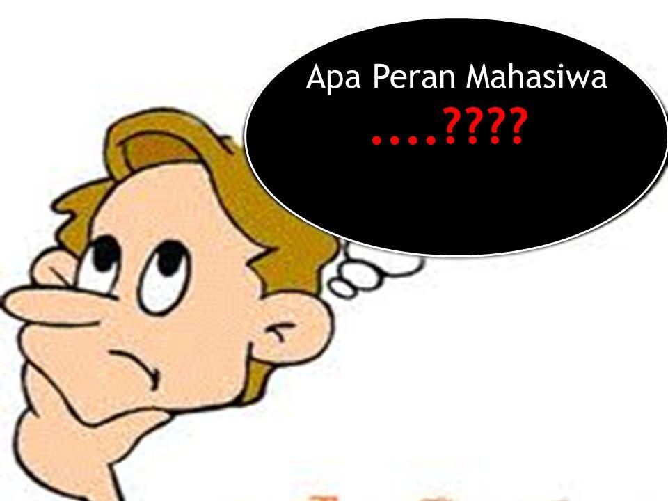 Apa Peran Mahasiwa....???? Apa Peran Mahasiwa....????