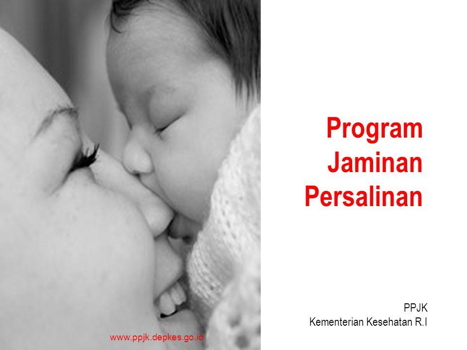 www.ppjk.depkes.go.id Program Jaminan Persalinan PPJK Kementerian Kesehatan R.I