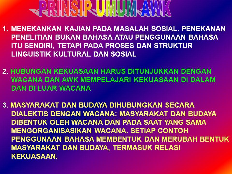 4.PENGGUNAAN BAHASA MUNGKIN BERSIFAT IDEOLOGIS.