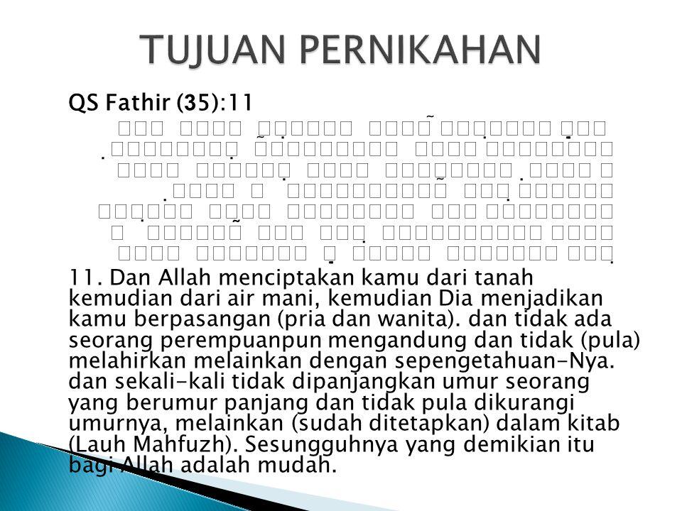  Rasul SAW bersabda: Jagalah para istri kalian, sesungguhnya kalian punya hak atas istri-istri kalian dan merekapun punya hak dari kalian.