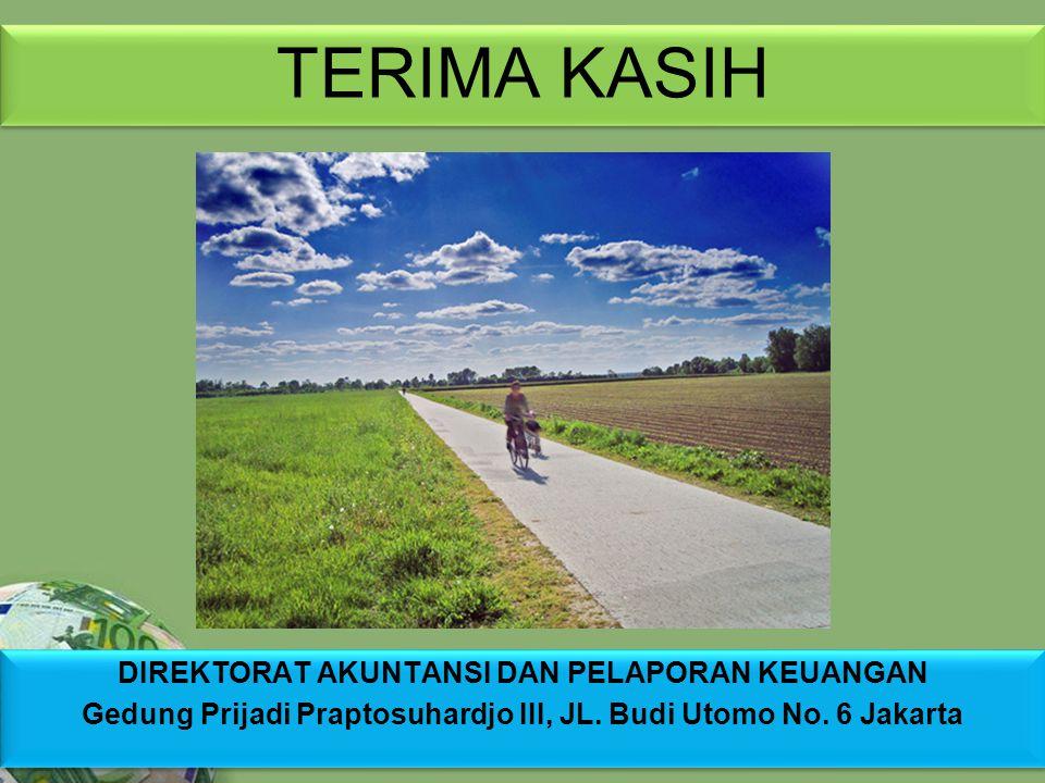 Powerpoint Templates Page 24 TERIMA KASIH DIREKTORAT AKUNTANSI DAN PELAPORAN KEUANGAN Gedung Prijadi Praptosuhardjo III, JL. Budi Utomo No. 6 Jakarta