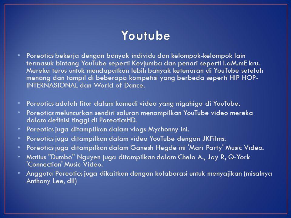 Poreotics adalah fitur dalam Justin Bieber dan Usher video musik
