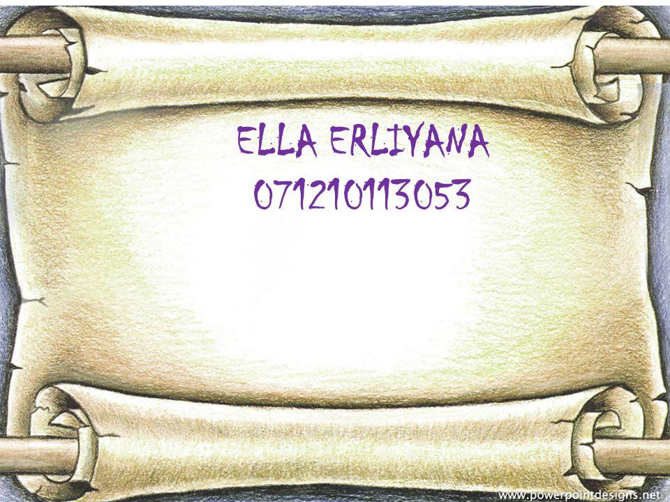 Identitas Nama lengkap : Ella Erliyana Nama Panggilan: Ella Cita-cita : Pengusaha Dosen Penulis Bisnis man
