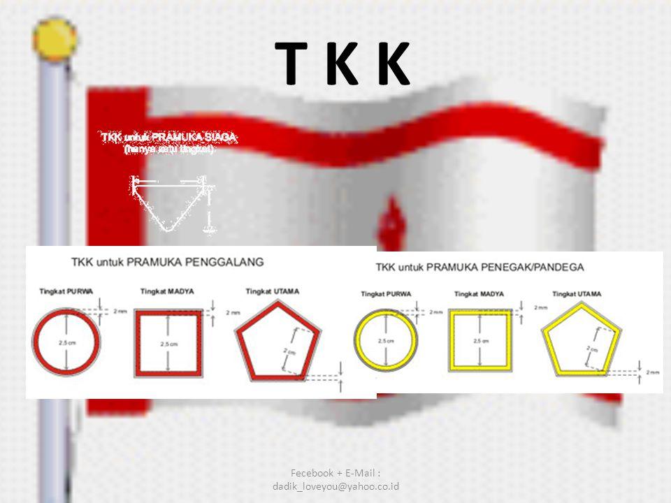 T K K Fecebook + E-Mail : dadik_loveyou@yahoo.co.id