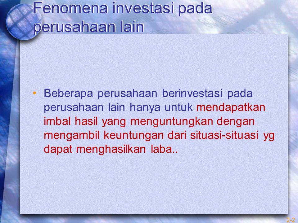 PEMBAHASAN Telaah literatur PSAK No.15 PSAK No.15 akuntansi untuk investasi dalam perusahaan asosiasi , mengharuskan metode ekuitas digunakan untuk pelaporan investasi dimana kepemilikan investor atas saham berhak suara memberikan investor kemampuan untuk mempunyai pengaruh signifikan atas kebijakan operasi dan keuangan perusahaan.