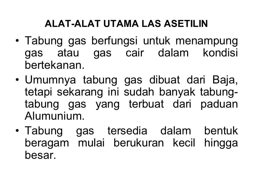 Tabung gas berfungsi untuk menampung gas atau gas cair dalam kondisi bertekanan. Umumnya tabung gas dibuat dari Baja, tetapi sekarang ini sudah banyak