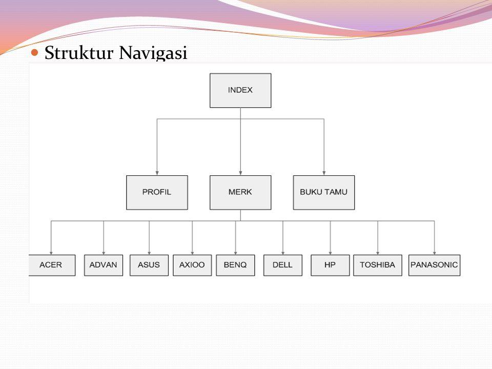 Struktur Navigasi