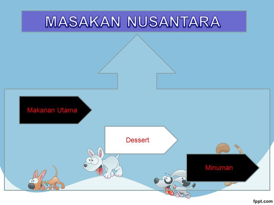 Makanan Utama Minuman Dessert