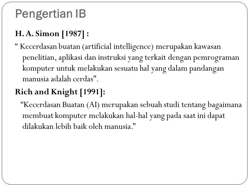 Pengertian IB H. A.