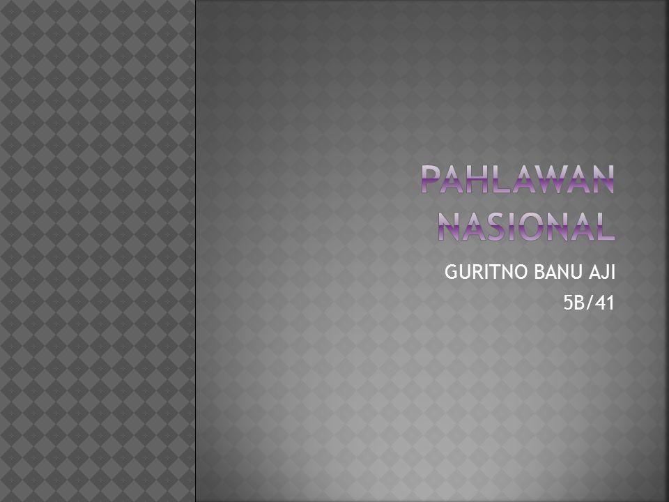 GURITNO BANU AJI 5B/41