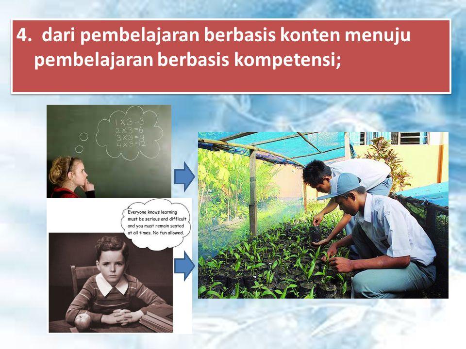 3. dari pendekatan tekstual menuju proses sebagai penguatan penggunaan pendekatan ilmiah;