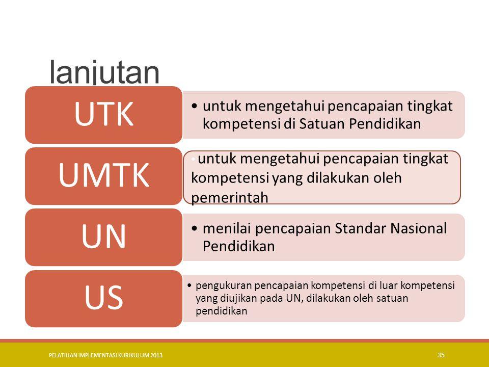 PELATIHAN IMPLEMENTASI KURIKULUM 2013 36 PRINSIP-PRINSIP PENILAIAN penilaian berbasis pada standar Objektif dilakukan secara terencana, menyatu dengan kegiatan pembelajaran, dan berkesinambungan.
