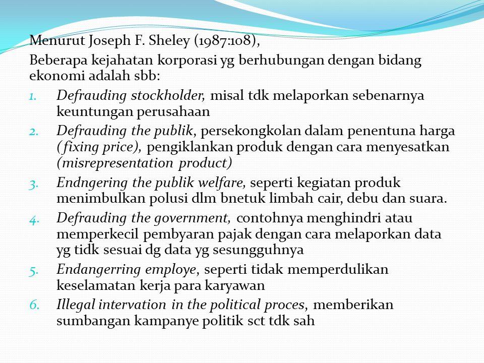 Menurut Joseph F.