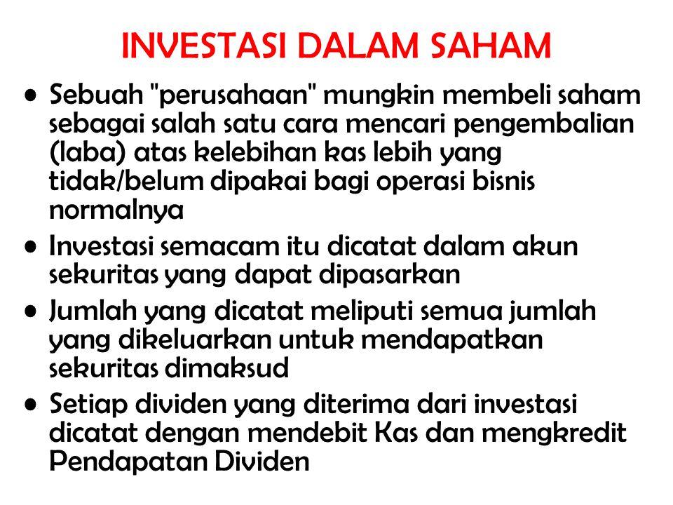 Dividen saham adalah pembagian saham tambahan milik perusahaan sendiri kepada para pemegang sahamnya.