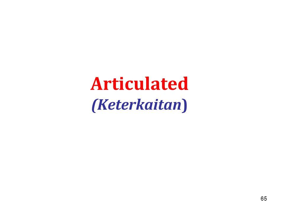 65 Articulated (Keterkaitan)