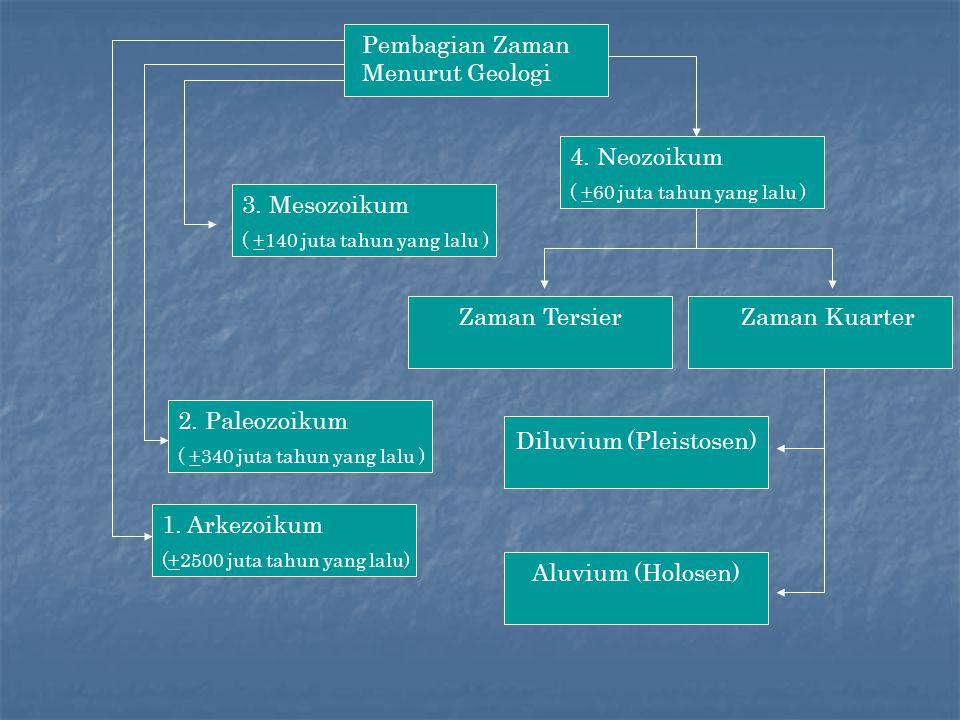 Pembagian Zaman Menurut Geologi 4.