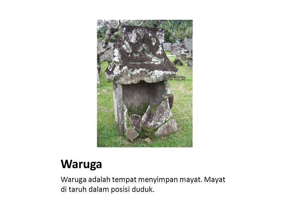 Arca / Patung Batu Arca / Patung Batu dibuat untuk di sembah