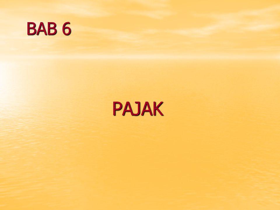 BAB 6 PAJAK